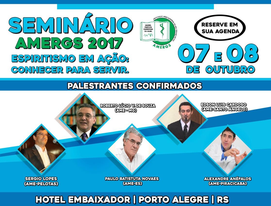 Seminário AMERGS 2017