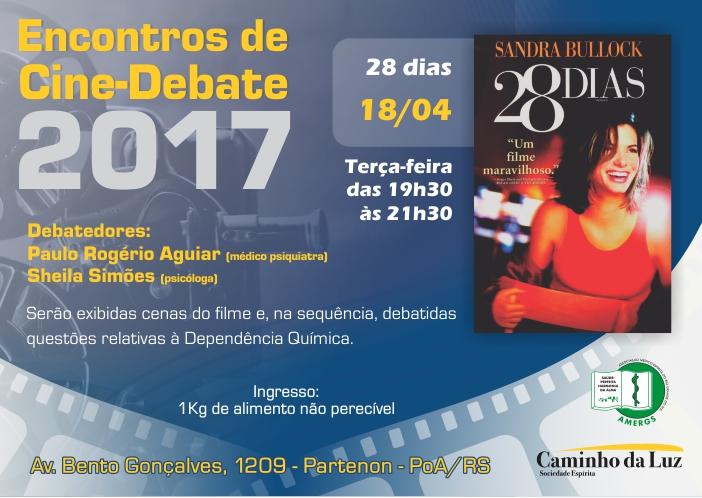 Encontros de Cine-Debate 2017