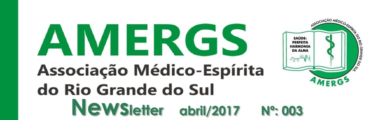 Newsletter AMERGS - Nº: 003 - abril/2017