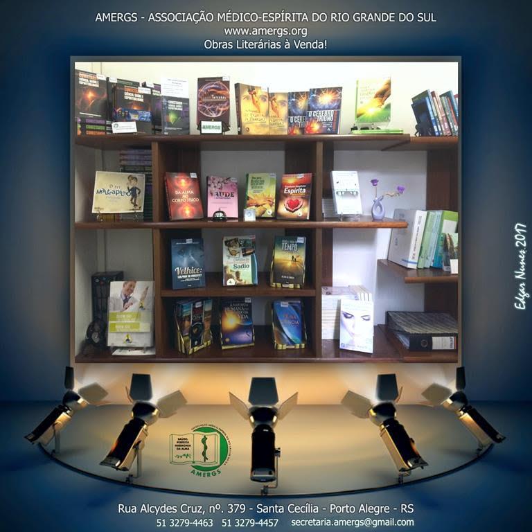 AMERGS - Obras Literárias à Venda