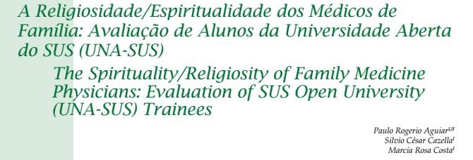 Pesquisa realizada por membro da AMERGS é publicada na Revista Brasileira de Educação Médica