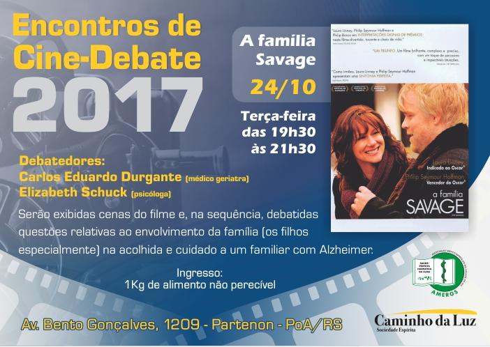 Encontros de Cine-Debate 2017 – Outubro