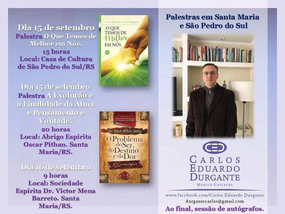 Palestras E Seminários Amergs