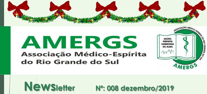 Newsletter AMERGS - Nº: 008 - dezembro/2019