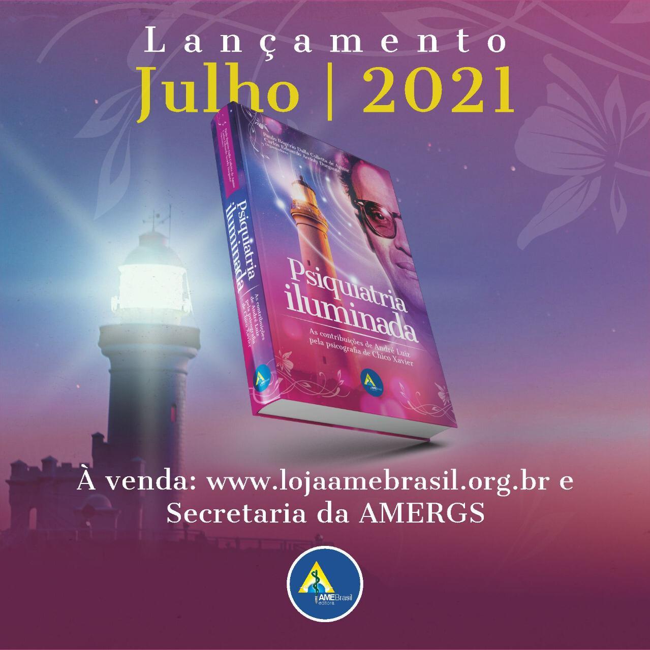 Venda do Livro Psiquiatria Iluminada - Nova obra da AME-Brasil Editora