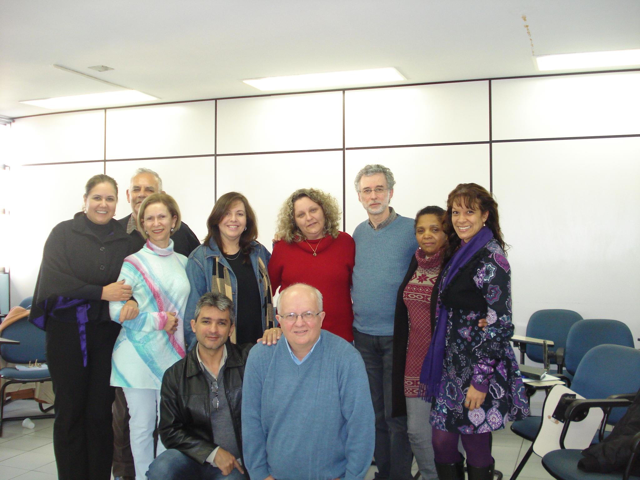 Turma com o prof. Décio Iandoli Junior